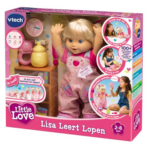 Vtech Little Love Lisa Leert Lopen